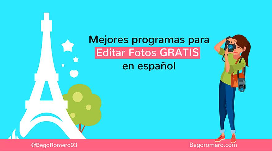 14 mejores programas para editar fotos gratis bego romero for Programas de diseno de jardines gratis en espanol
