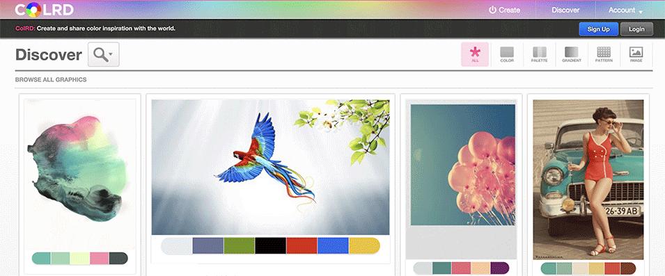 Colrd Paleta de Colores