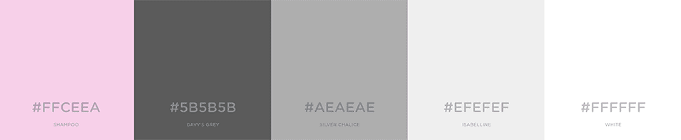 Encuentra los colores perfectos para una combinaci n de for Paleta colores gris