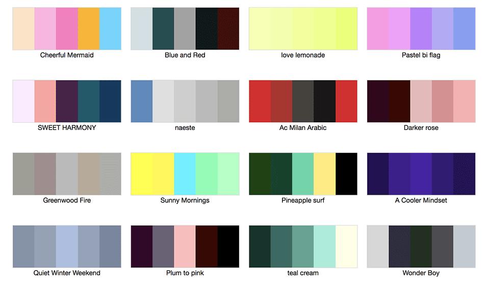 Gama De Colores Pastel Gallery Of La Gama De Colores