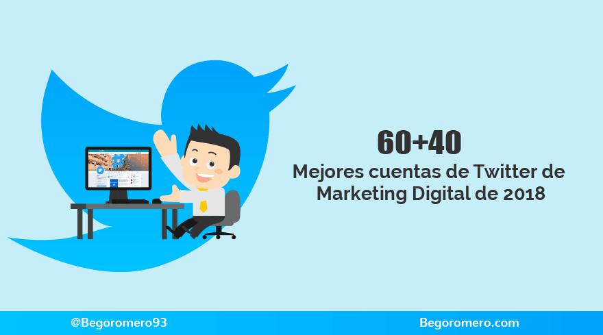 Cuentas para seguir en Twitter sobre Marketing Digital