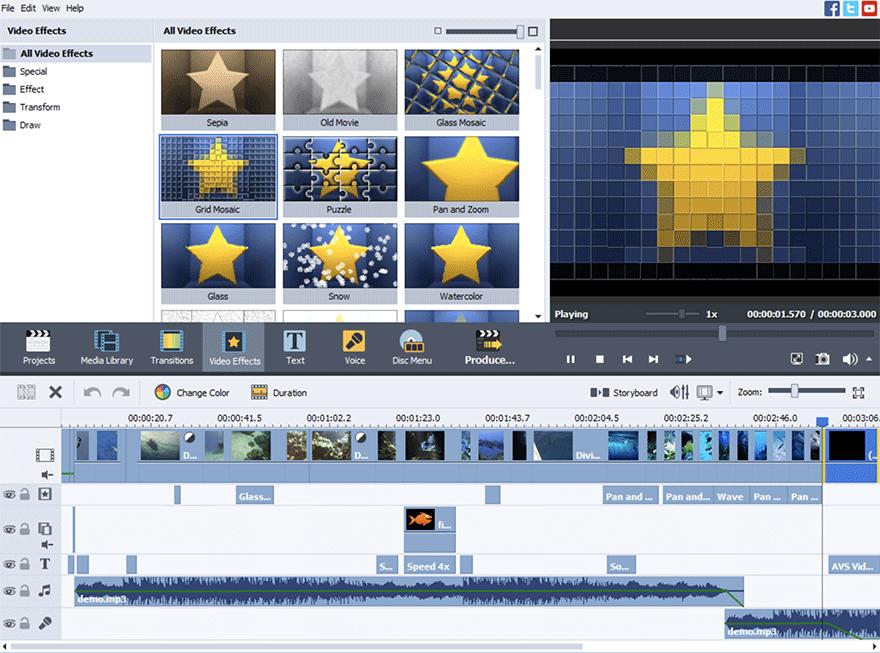 Programa para editar vídeos