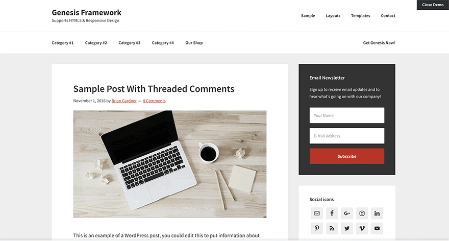 17 Mejores plantillas de WordPress GRATIS y PREMIUM - Bego Romero