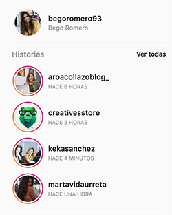 Ver Instagram Stories desde el PC
