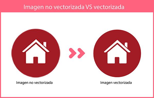 diferencia entre imagen vectorial y mapa de bits