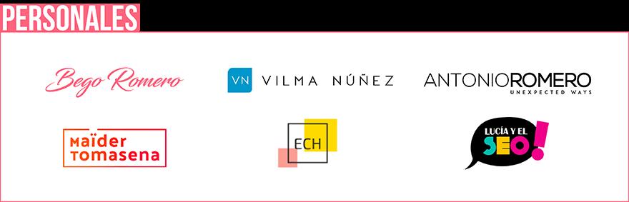 ejemplos de logotipos personales