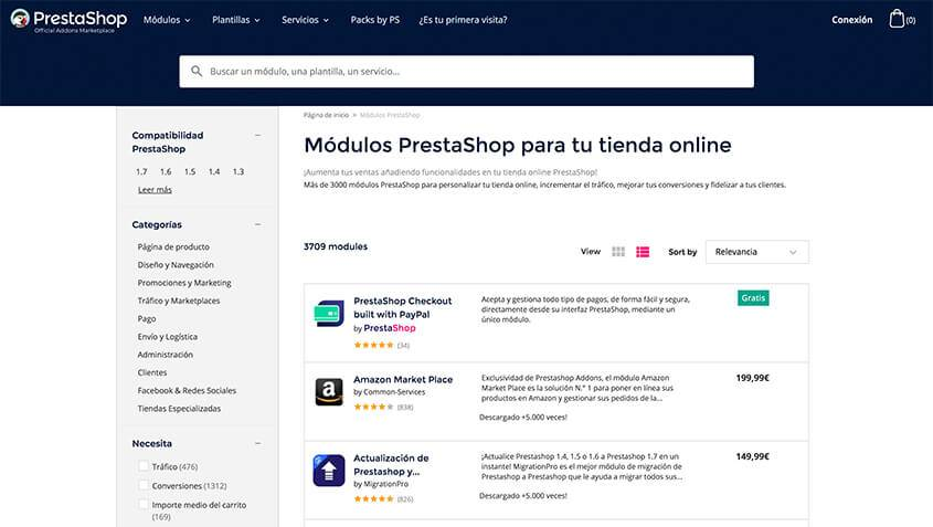 repositorio prestashop