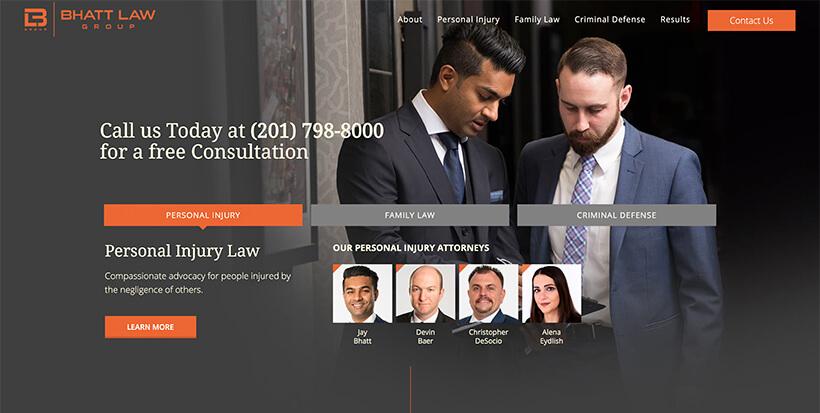 ejemplo diseño abogados