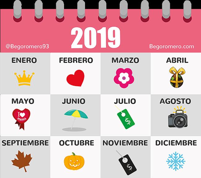 Calendario El Grafico 2019 Pdf.Calendario De Community Manager 2019 Pdf Descargable