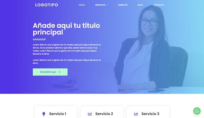 diseño web acelerado