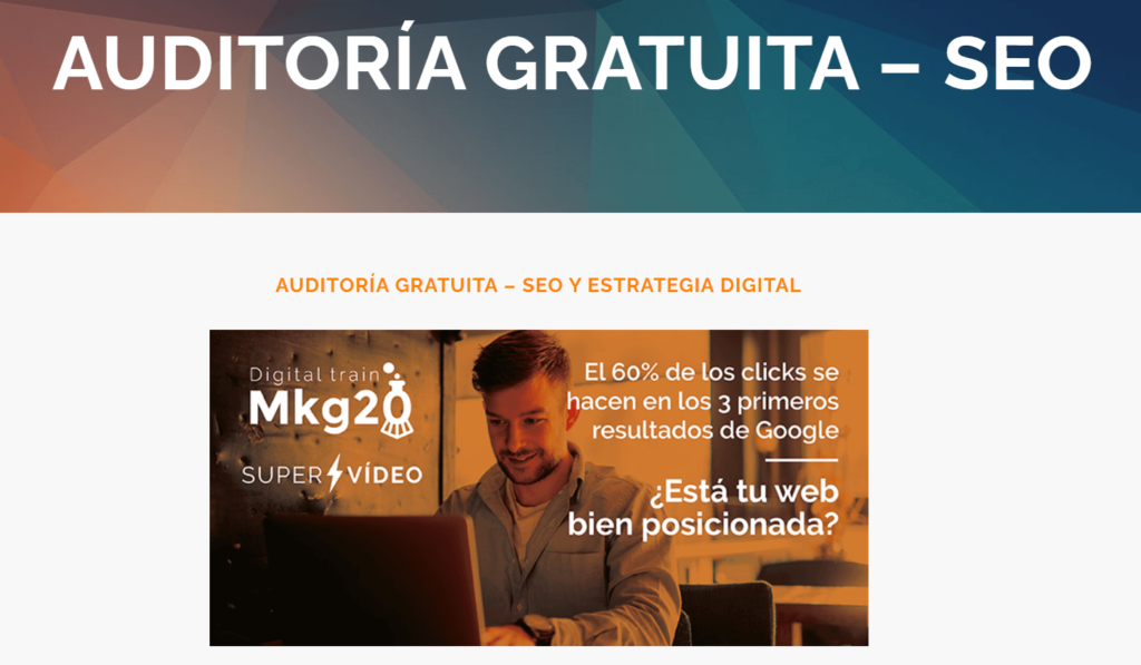 ejemplo lead magnet auditoria gratuita