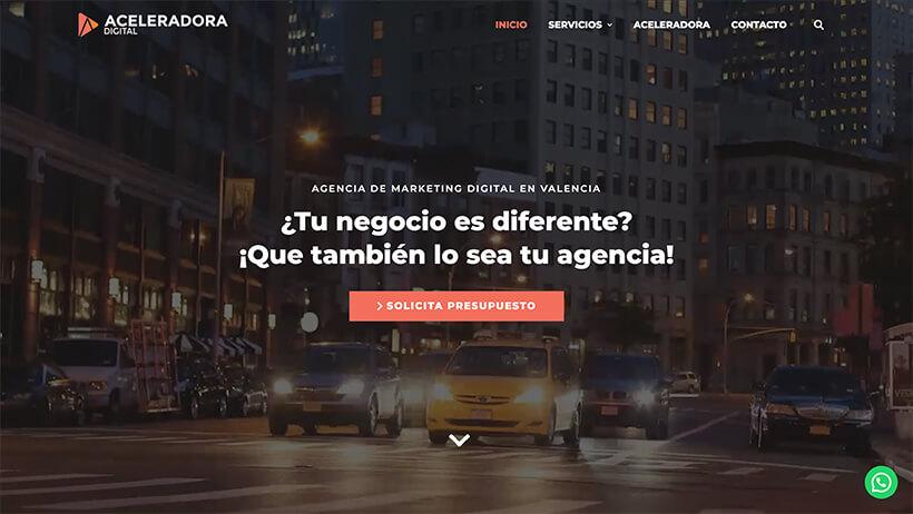 ejemplo web agencia