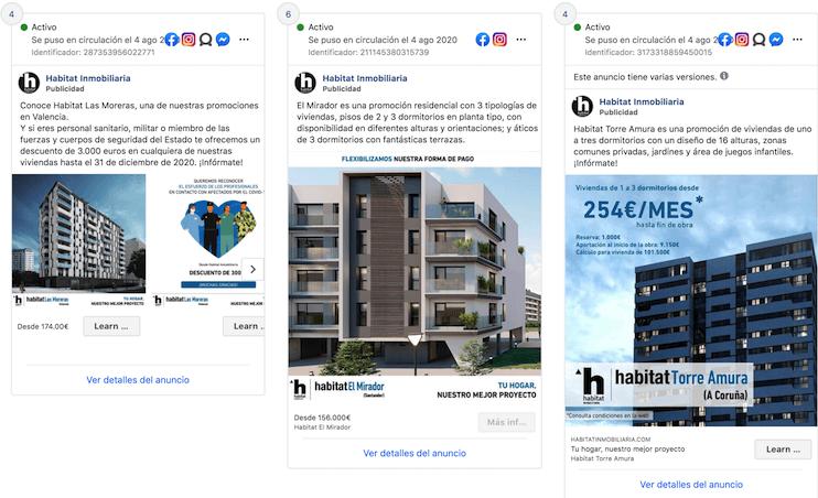 facebook ads para inmobiliarias
