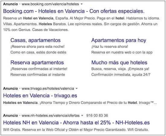 google ads para turismo
