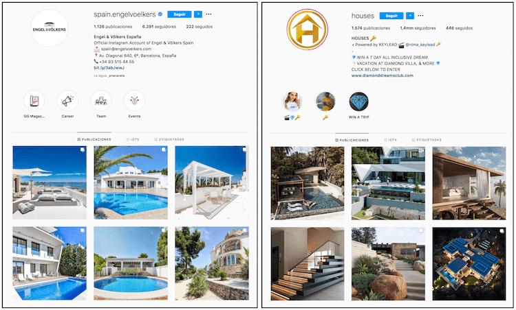 instagram inmobiliario