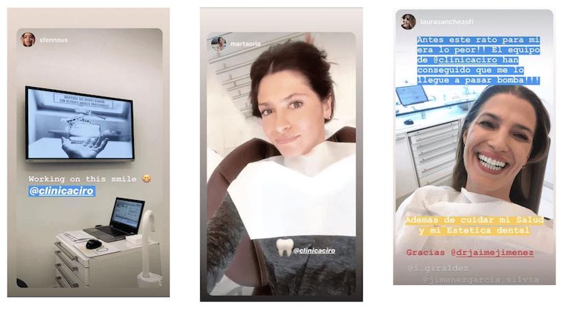 marketing de influencers clinica dental
