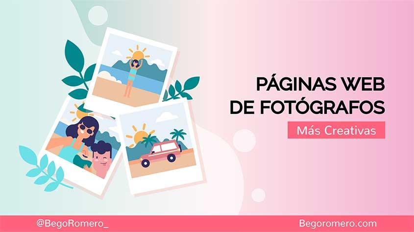 Mejores páginas web de fotógrafos en el 2020