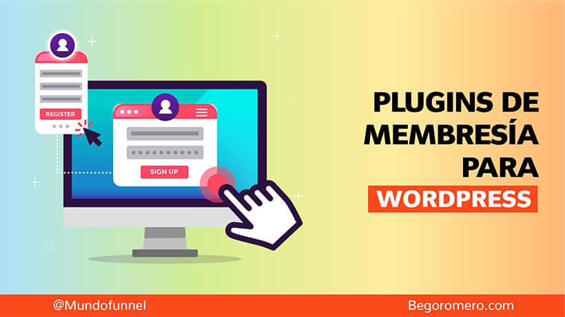 mejores plugins de membresia para wordpress