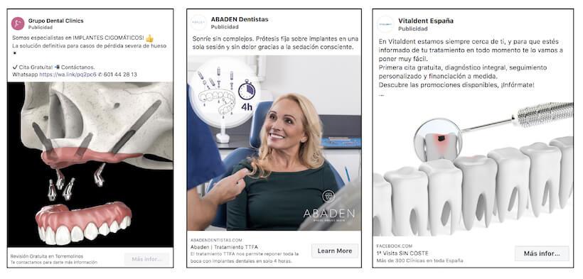 facebook ads para dentistas