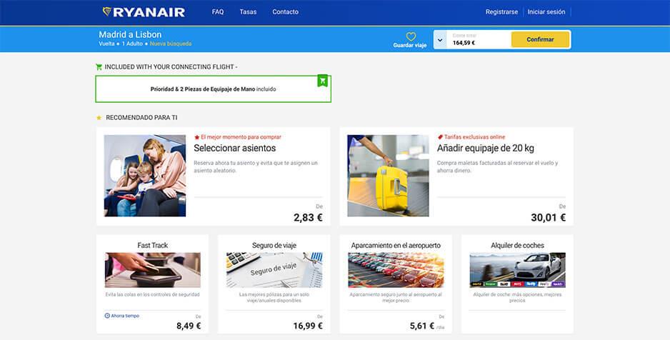 Ryanair venta