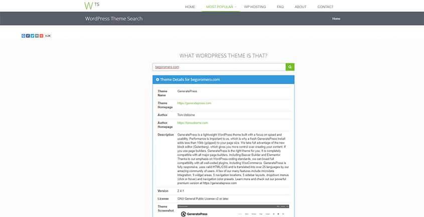 What WordPress theme - que tema de wordpress es